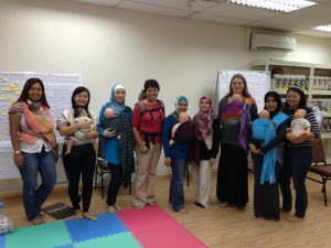 School of babywearing Training course