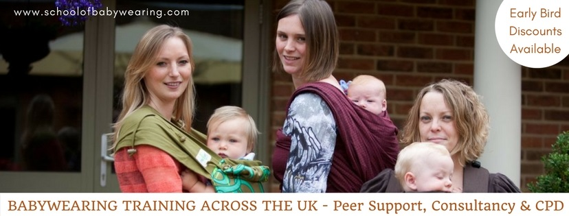 Babywearing training over the UK