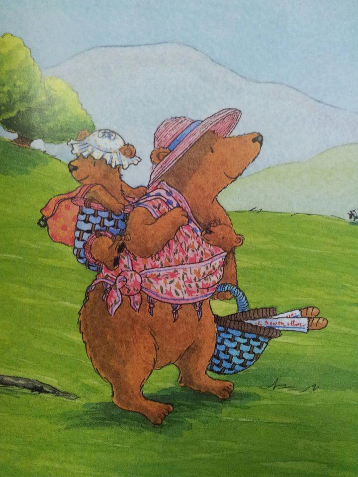 my bears picnic debi gliori