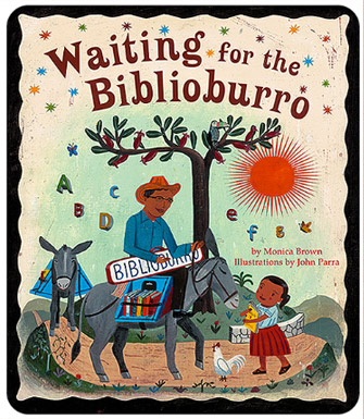 waiting for the biblioburro monica brown